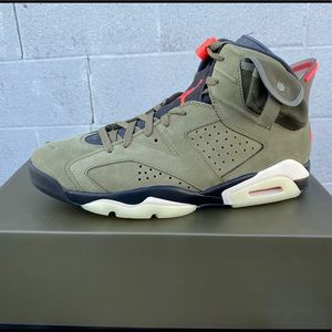 New 11.5 Retro Jordan 6 (Travis Scott edition)